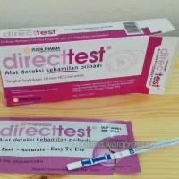 Hasil Tes dengan Direct Test