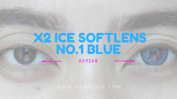 X2 Ice Softlens No.1 Blue